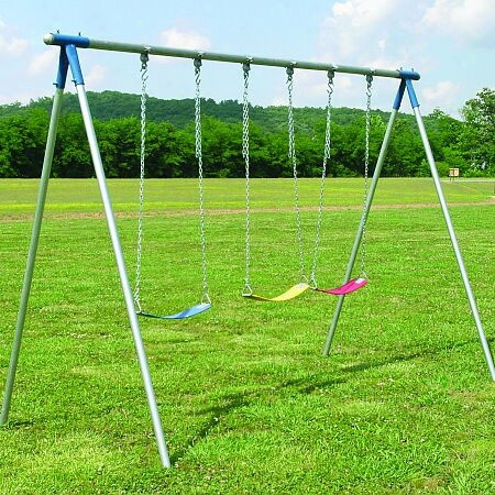 Three Seat Swing Set