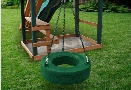 Residential Plastic Tire Swing