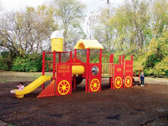 Tot Town Express Modular Playground