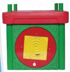 Tot Town Fun Center Add A Play Panel - Circle Maze
