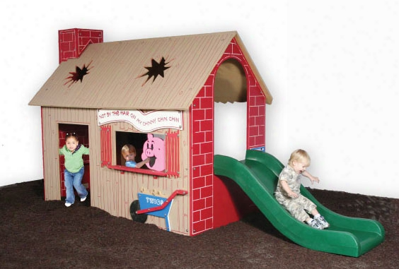 Tot Town Three Little Pigs House