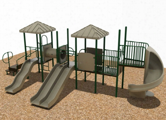 Twin Tower Playground System