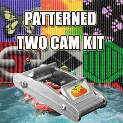 Twocam Kit With Patterned Polyester