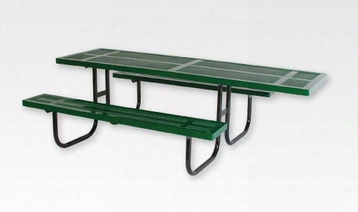 Wheelchair Accessible Rectangular Picnic Table 8 Foot