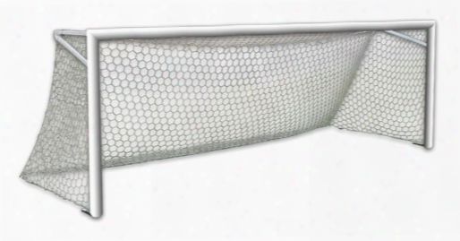 World Class 21 Foot Soccer Goal With Net Set Of 2 Permanent
