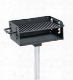 360 Degree Rotating Pedestal Grill 2 38 Inch Post 300 Sq In