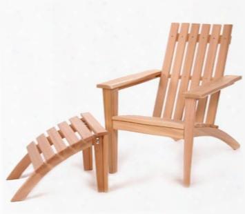 Adirondack Chair And Ottoman Set