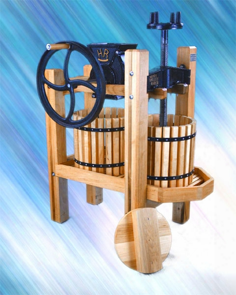 American Harvester Double Tub Cider Mill And Wine Press