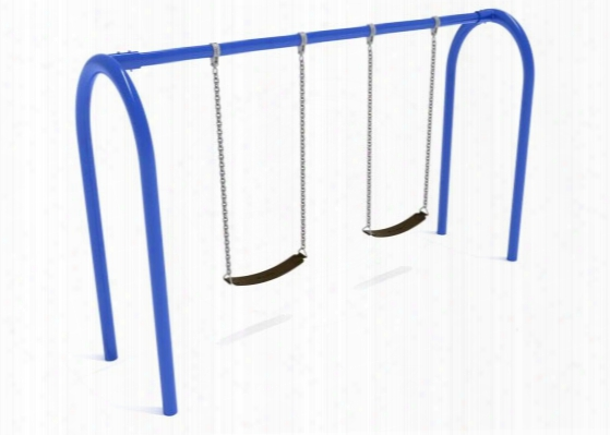Arch Swing Frame - 2 Swings 3.5 Inch Post