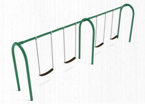 Arch Swing Frame - 8 Swings 3.5 Inch Post