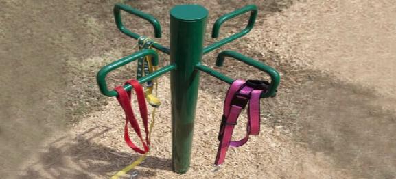Bark Park Leash Post Dog Exercise Equipment