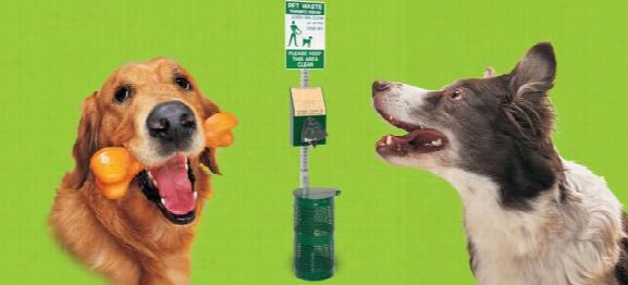Bark Park Pet Waste Station Outdoor Dog Equipment