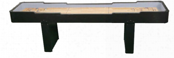 Black Shuffleboard Game - 12 Foot