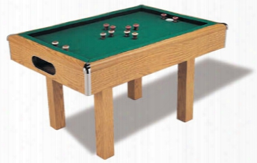 Bumper Pool Table With Non-slate Bed