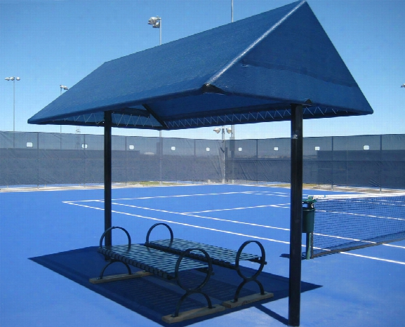 Canopy Shade Structure 8 Foot X 12 Foot 2 Posts