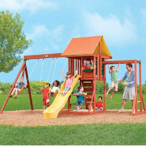 Cedarbrook Wooden Swing Set