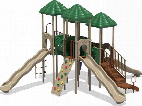 Chimney Tops Playsystem - Natural Or Playful Colors