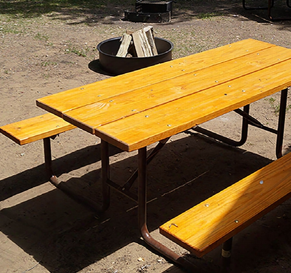 Classic Picnic Table Treated Lumber - 6 Foot