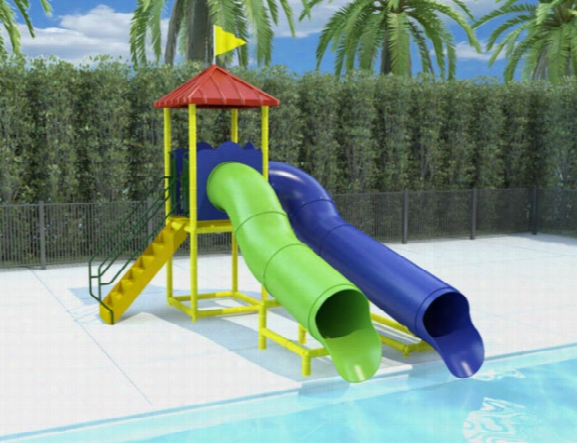 Commercial Water Slide 202 - Designed For Self Installation