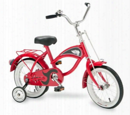 Cruiser Bike 14 Inch Red