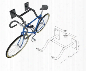 Dero Wall Rack Bicycle Rack