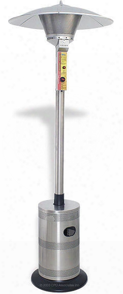 Endless Summer Basic Commercial Lp Patio Heater - Stainless