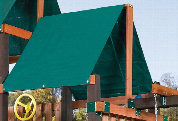 Extra Duty Green Swing Set Replacement Tarp