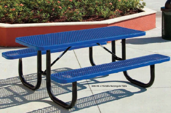 Extra Heavy Duty Diamond Picnic Table 6 Foot