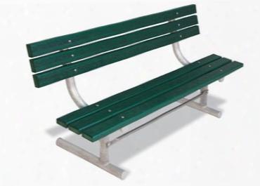 Extra Heavy Duty Recycled Plank Park Bench