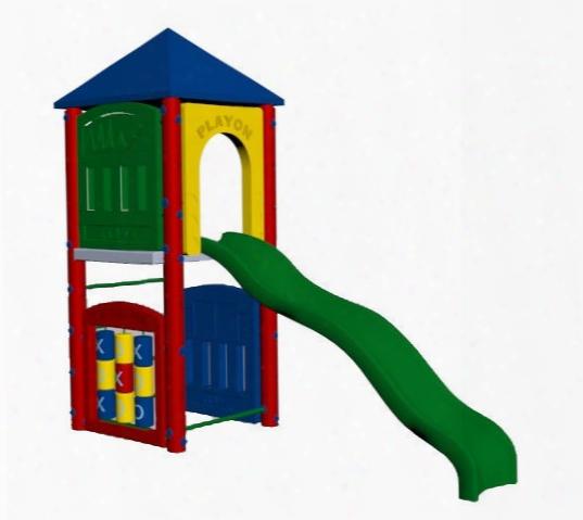 Fort Adams Playground 5 Foot Deck Height