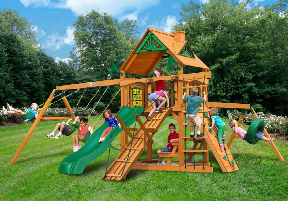 Frontier Ap Wooden Swing Set