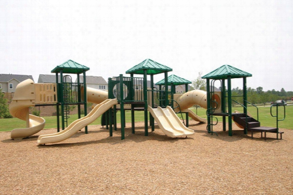 Funscapes Ppg 12 Wooden Playground
