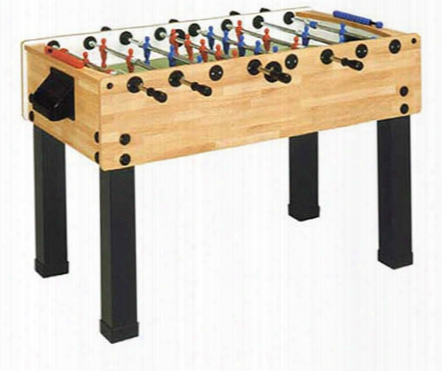 Garlando G-500 Butcher Block Foosball Table