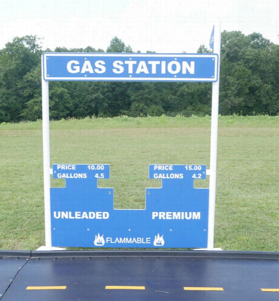 Gas Station Stand Alone Commercial Play Event