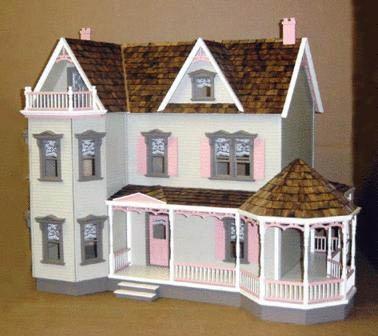 Glenwood Milled Plywood Dollhouse Kit