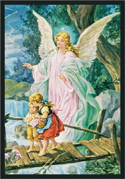 Guardian Angel Rug - 5.33 Foot X 7.67 Foot