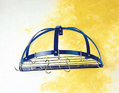 Half Dome Pot Rack With Grid