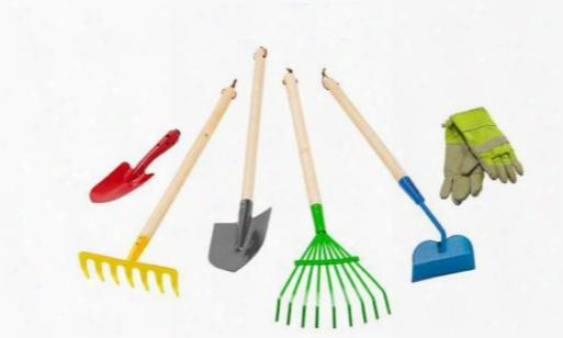 Junior Garden Tool Set 6 Pieces