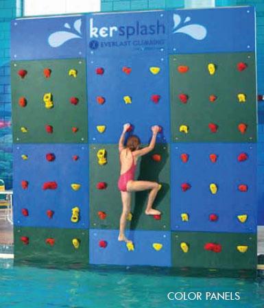 Kersplash Crystal Color Pool Wall Package - 12 H X 4 W