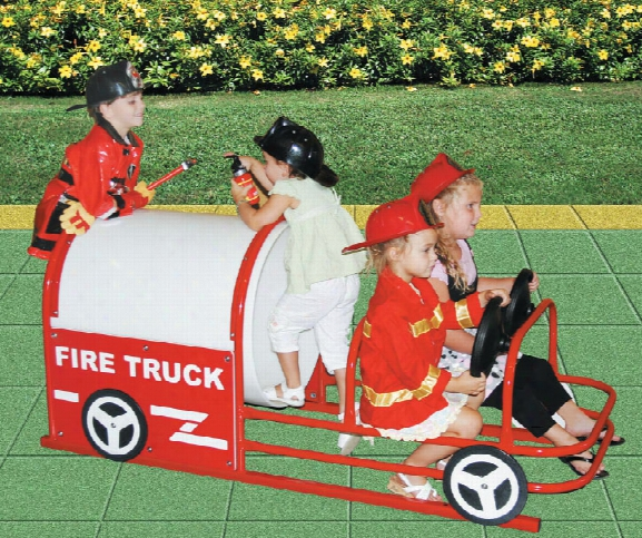 Lil Red Fire Truck Crawl Through