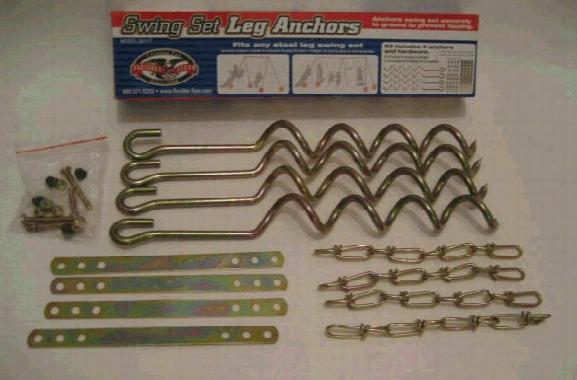 Metal Swing Set Leg Anchors