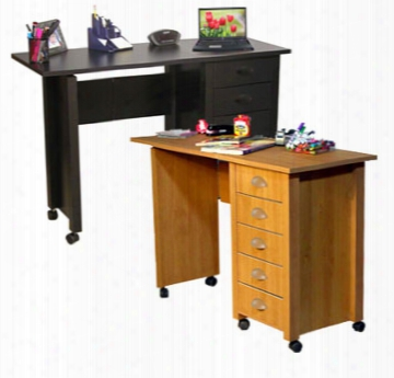 Mobile Desk Work And Crafting Center