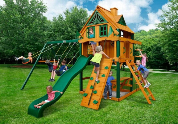 Mountain Ridge Ts Wooden Swing Set