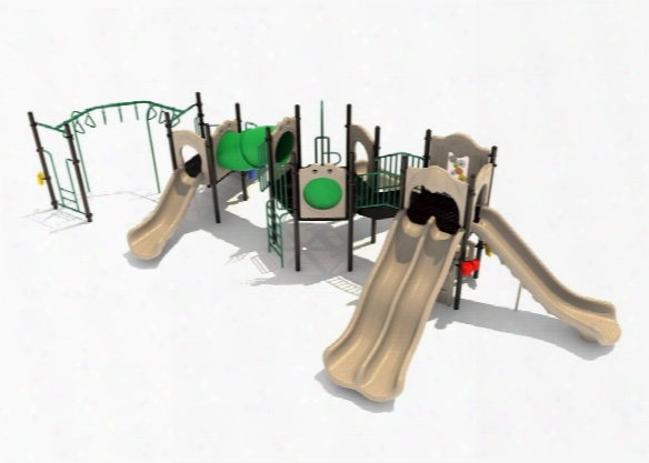 Mountain View Spark Playground - 3.5 Inch Posts