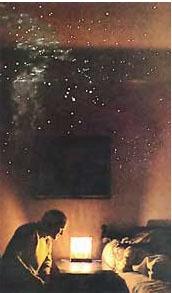Night Sky Star Stencil - Summer Sky 7.5 Foot X 8 Foot