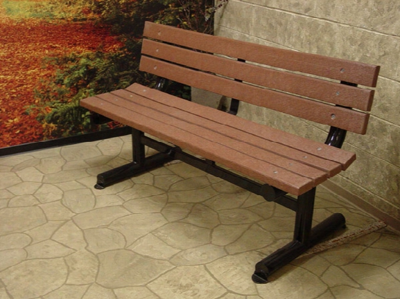 Outdoor Park Bench 6 Foot Heavy Duty