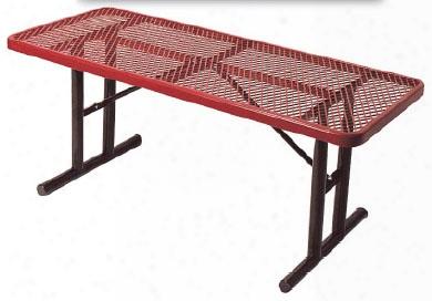 Portable Multi Pedestal Diamond Utility Table 6 Foot