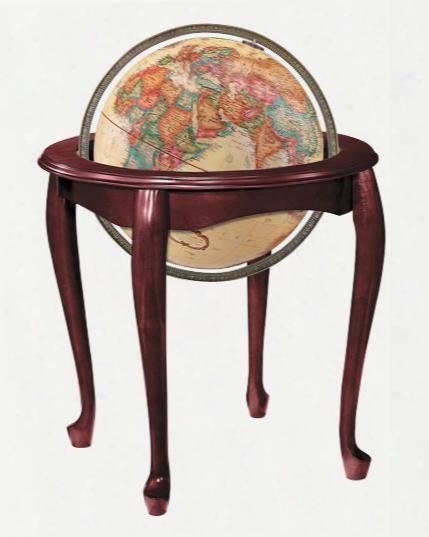 Queen Anne World Globe - Antique