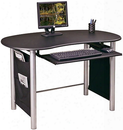 Saturn Workstation With Silver Accents