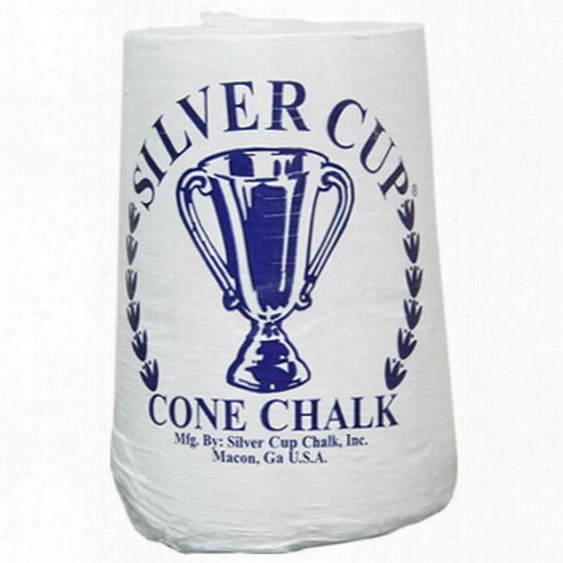Silver Cup Cone Chalk - Case Of 6